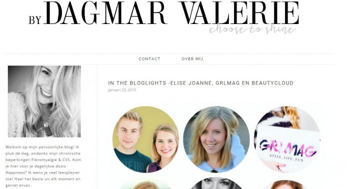 In the bloglights - by dagmar valerie - 23 januari 2015