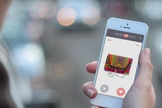 De tinder-app voor fashion: Swipe & Shop