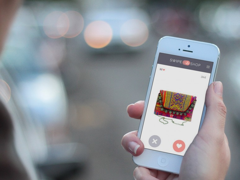 De tinder-app voor fashion: Swipe & Shop