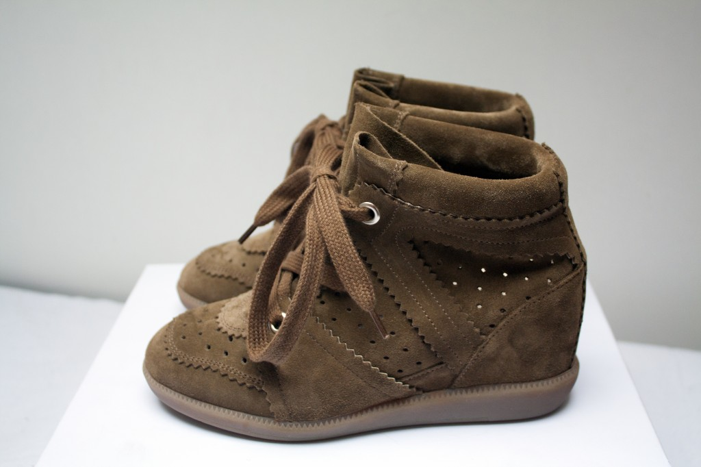 Isabel marant bobby sneakers The New Girl In Town