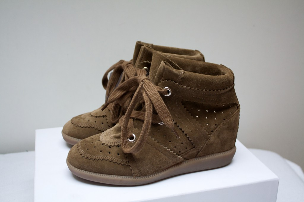 Isabel marant bobby sneakers The New Girl In Town1