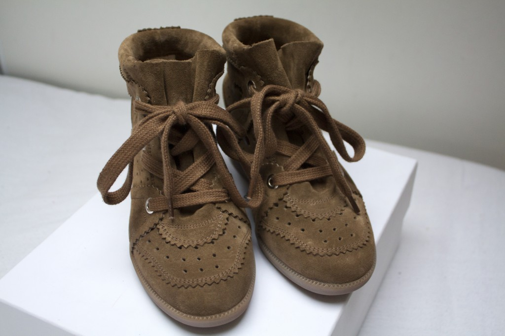 Isabel marant bobby sneakers The New Girl In Town3