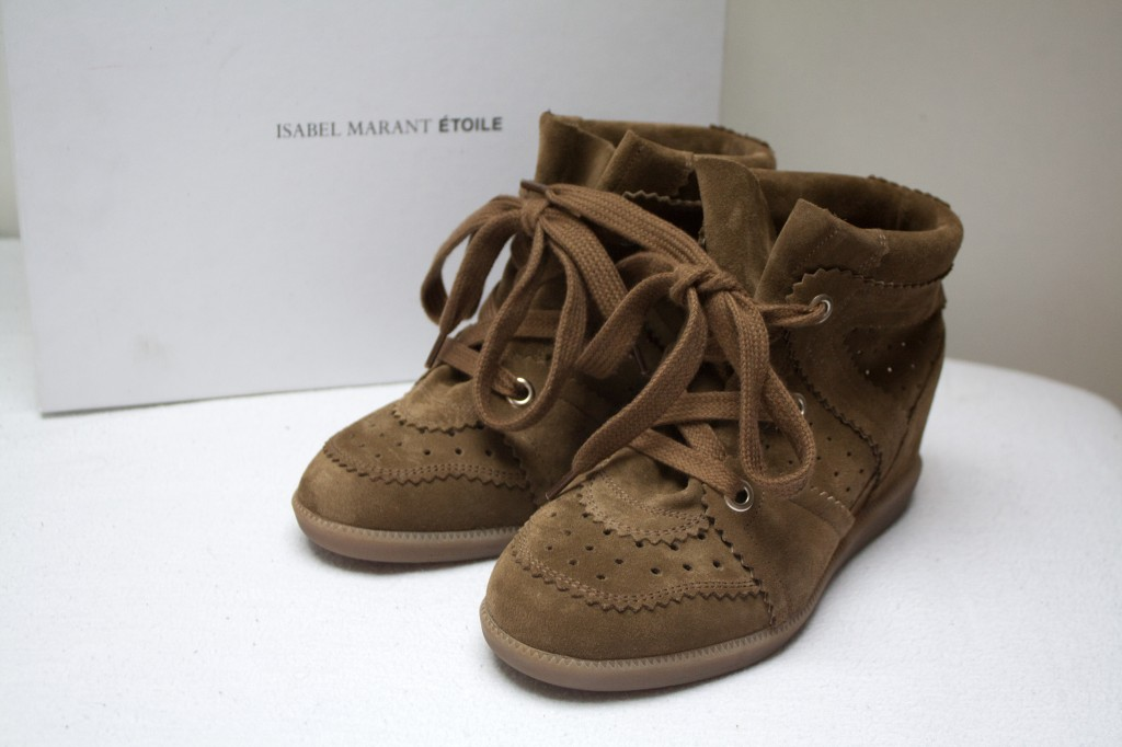 Isabel marant bobby sneakers The New Girl In Town4
