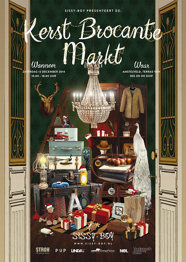 Weekend tip: Kerst Brocante Markt Sissy-Boy