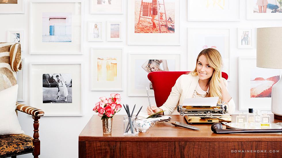 Lauren Conrad office The New Girl In Town8