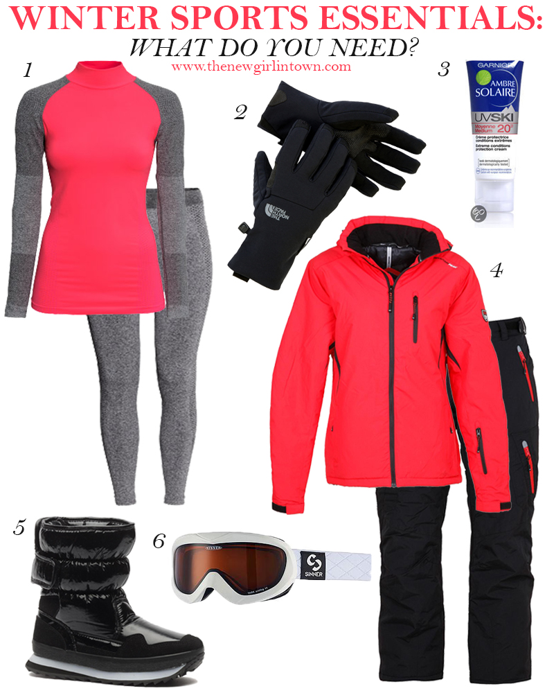 What do you need for Winter sports?
