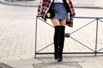 5 items voor december - over the knee boots