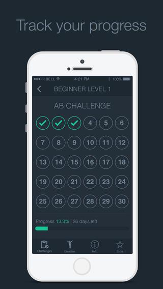 30 days ab challenge app