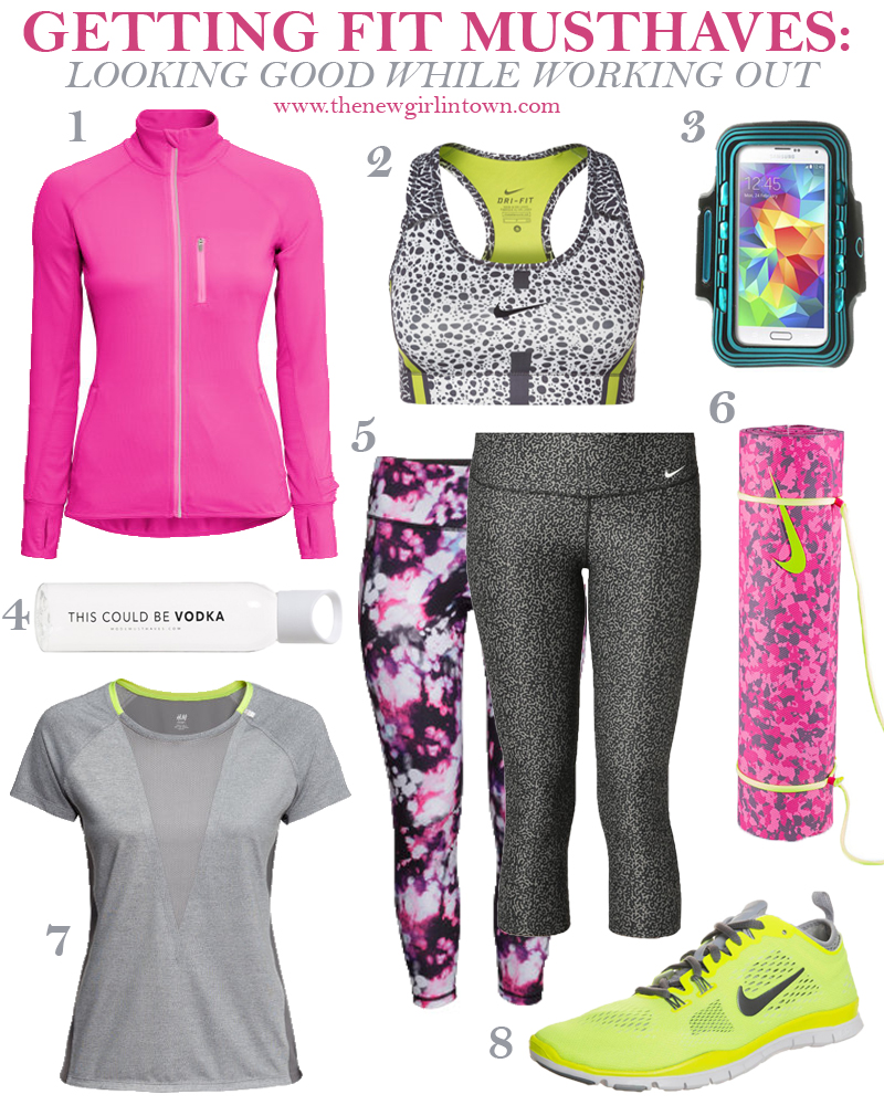 Getting fit musthaves1