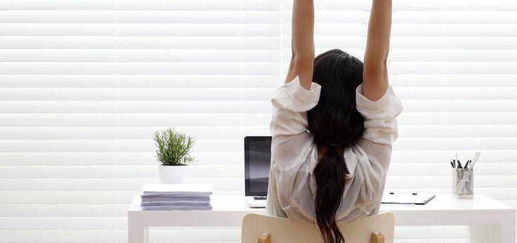 workout achter je bureau