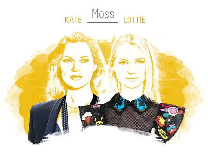 Stylight Kate en Lottie Moss