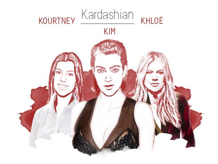Stylight Kim Khloe en Kourtney Kardashian
