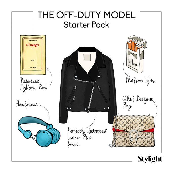 FASHIONWEEK the off-duty model