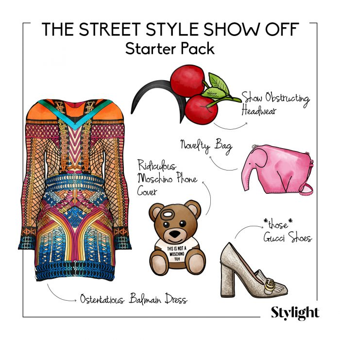 FASHIONWEEK the street style show off
