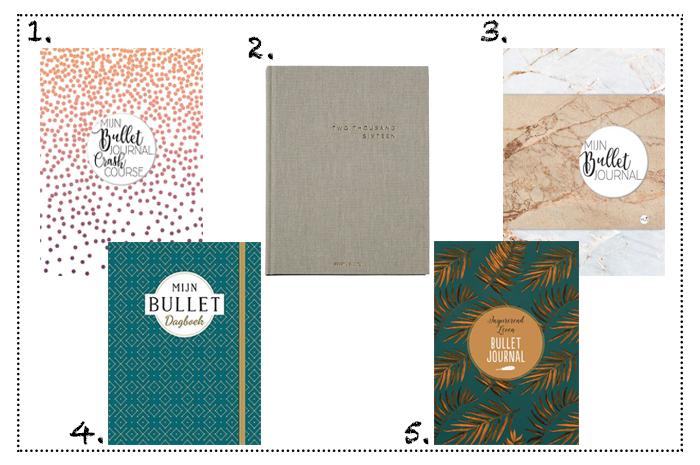 Bullet Journal favorieten