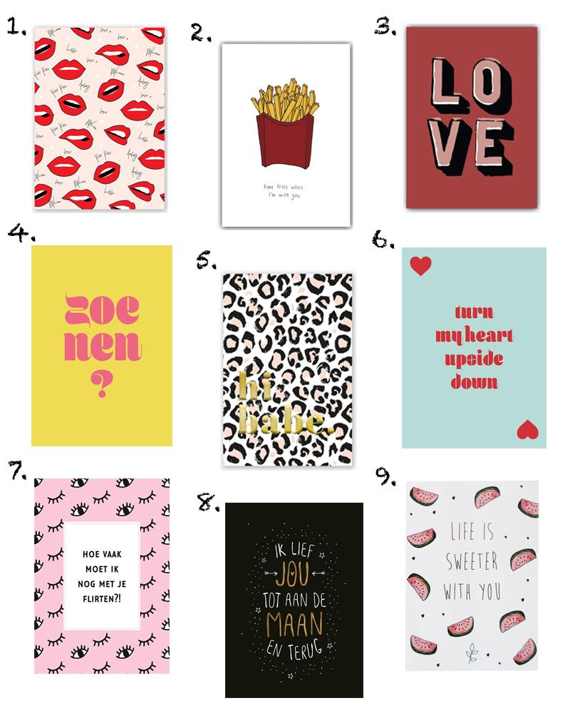 Shopping Valentijnskaarten