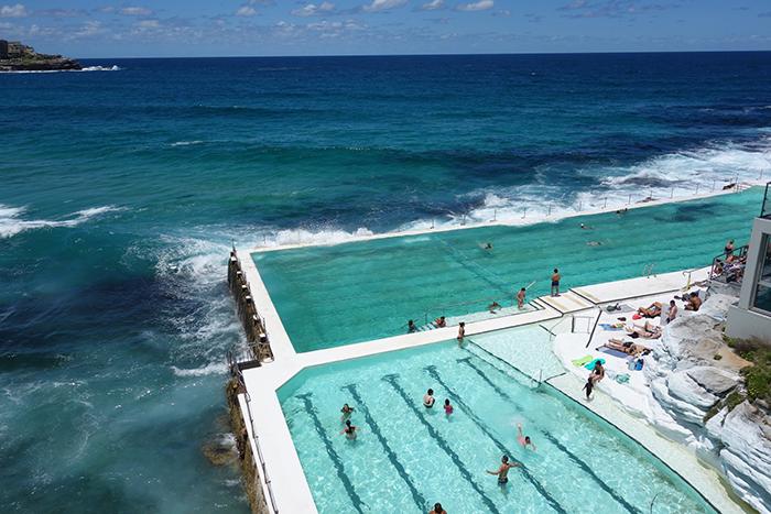 Zwemmen in de natuur: Bondi Iceberg Pool